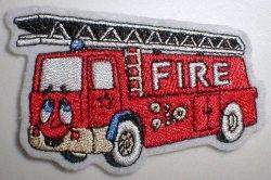 Aufnäher kleine Feuerwehr Applikation