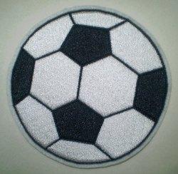 Aufnäher - XL Fußball - Applikation