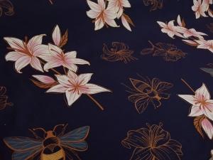 Bio-Sommersweat Glow Edition Lily Albstoff - 50 cm pro Stück
