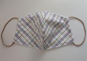 Mund - und Nasen - Maske  aus Baumwolle , Molton, waschbar, 1 Stück , KEIN Virenschutz , handmade by la piccola Antonella - Handarbeit kaufen