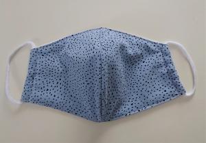 Mund - und Nasen - Maske  aus Baumwolle , Molton, waschbar, 1 Stück , KEIN Virenschutz , handmade by la piccola Antonella