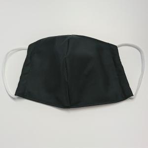 Mund - und Nasen - Maske für Schul Kinder in schwarz beige, dünne Baumwolle, waschbar, 1 Stück , KEIN Virenschutz , handmade by la piccola Antonella - Handarbeit kaufen