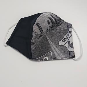 Mund - und Nasen - Maske , 2 lagig aus dünner Baumwolle  , KEIN Virenschutz , handmade by la piccola Antonella  - Handarbeit kaufen