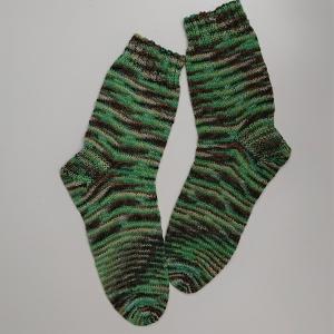 Gestrickte Socken für den Mann, Gr. 44/45 , Wollsocken, Kuschelsocken, handgestrickt, la piccola Antonella