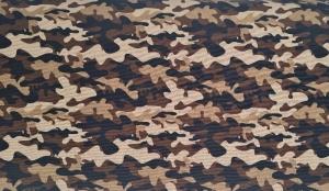 Baumwollstoff Camouflage braun, Meterware Kim, Webware, Stoffe kaufen bei la piccola Antonella  - Handarbeit kaufen