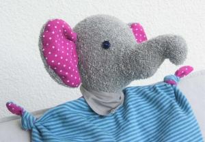 Lumpi der Elefant * Kuscheltier und Schmusetuch