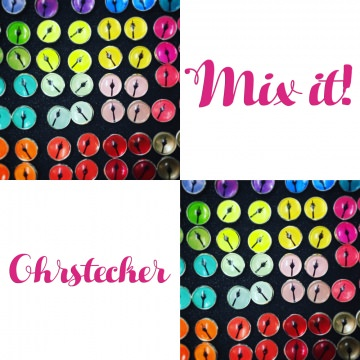 ☆ ☆ ☆  MIX IT! Mix Dir Dein Paar wie es Dir gefällt :) 1x Paar Ohrstecker ☆ ☆ ☆