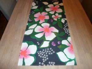 Tischläufer *Fiore* Baumwolle 145x44cm UNIKAT von friess-design  - Handarbeit kaufen