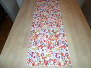 Tischläufer *Strano* Baumwolle bunt 145x38cm von friess-design  - Handarbeit kaufen