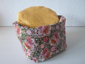 Eierkörbchen/ Eierwärmer *orientale* Baumwolle bunt mit Deckel nach Wahl von friess-design - Handarbeit kaufen