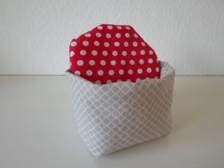Eierkörbchen/ Eierwärmer *facile*  Baumwolle mit Deckel nach Wahl von friess-design  - Handarbeit kaufen