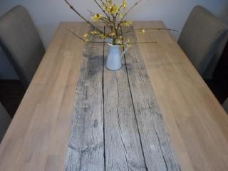 Tischläufer *Lombardia* Baumwolle 140x40cm von friess-design  - Handarbeit kaufen
