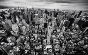 New York Skyline Foto Poster 60 x 90 cm