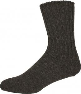Socken Gr. 43/44 dunkelbraun