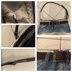 Genähte vintage Tasche