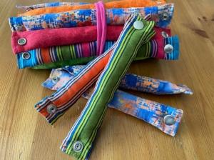 Schlafwickler_12 + 4 Stück_Baumwolle - Handarbeit kaufen