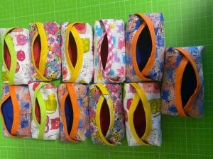 Taschentuchtäschchen TaTüs in frischen Farben 12 x 6 x 2cm