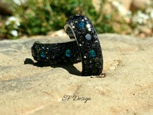 Edelstahlohrringe besetzt mit Swarovski® Crystals
