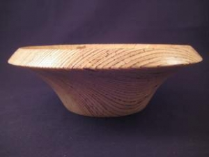 Gedrechselte Holzschale aus Ultralam / Funierschichtholz mit schöner Maserung - Handarbeit kaufen