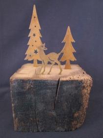 Winterlandschaft / Winterdekoration / Weihnachtsdekoration - Handarbeit kaufen