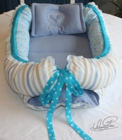 Babynest- Nestchen- Cocoons- Wickelauflage- Handarbeit - Handarbeit kaufen