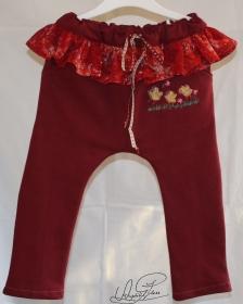 Baby / Kleinkindhose, - Jogger, - Sweatshirt- Hose,- Pants, - Größe: 86- 92 ( 18- 24 Monate ),- ,,Unikat - Handarbeit kaufen