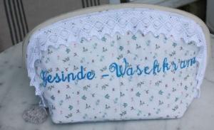 Damen Kulturbeutel,- Kosmetiktasche,- Reise-Waschtasche,- Badetasche,- Kosmetik- Bag,- Größe: 34 x 20 x 15 cm