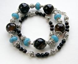 Halskette Blaue Schildkröte