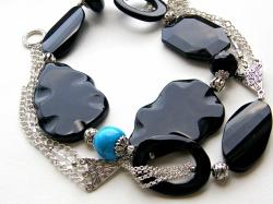 Halskette Noire