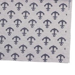 Jersey French Terry Glitzer Anker Textil Bekleidungsstoff