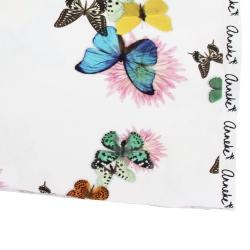 Jersey Schmetterling Bunt Textil Bekleidungsstoff Meterware Baumwolle