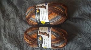 2 Knäuel je 50g Schachenmayr Sockenwolle Landscape Color 4-fädig zusammen für 7 Euro - Handarbeit kaufen