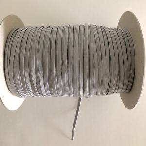 Gummiband 5mm grau - Handarbeit kaufen