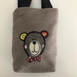 Kleine braune robuste Kinderhandtasche  - Handarbeit kaufen