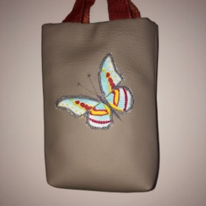 Kleine beige robuste Kinderhandtasche    - Handarbeit kaufen