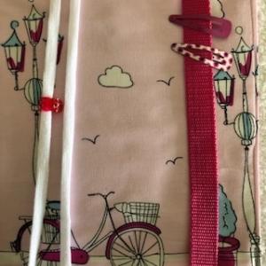 Großer rosaer Haarspangenorganizer  für Kinder  - Handarbeit kaufen
