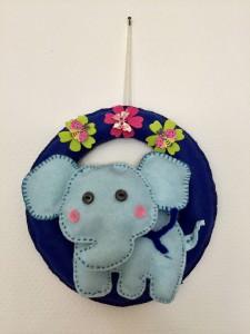 Elefant Mobile - Dekoidee für Ihren Kinderzimmer, Kinderbettchen