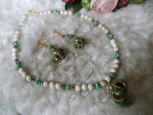 Bea Howlith Natur mit Muscheln Hippie Ethno 3-teiliges Set Jewelry - Handarbeit kaufen
