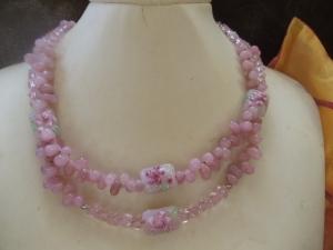 Rosalinde mit traumhaften Lampworks Jewelry Neclaces - Handarbeit kaufen