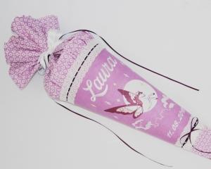 Schultüte Zuckertüte aus Stoff Pferd Pegasus - Handarbeit kaufen