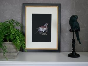Fine Art Print FIELDFARE ☆ auf Hahnemühle-Papier in Museumsqualität
