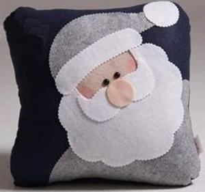 Weihnachtsmann Kissenbezug