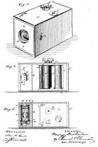 Kunstdruck Filmkamera 1888