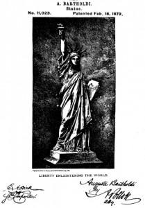 Kunstdruck Freiheitsstatue