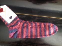 handgestrickte Socken 38/39