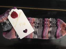 Handgestrickte Socken Gr. 34/35