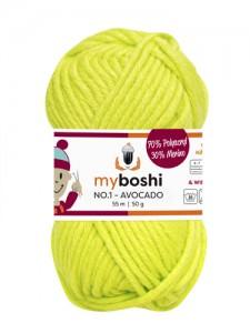 My Boshi No 1. - Avocado 115 Lieblingsfarben - Wolle kaufen