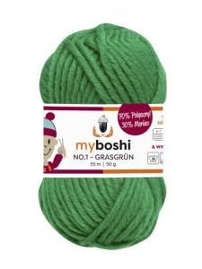 My Boshi No 1. - 50g Grasgrün 122 Lieblingsfarben - Wolle kaufen - Handarbeit kaufen