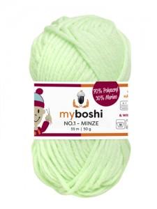 My Boshi No 1. - 50g Minze 127 Lieblingsfarben - Wolle kaufen - Handarbeit kaufen