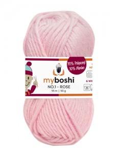 My Boshi No 1. - 50g Rose 143 Lieblingsfarben - Wolle kaufen - Handarbeit kaufen